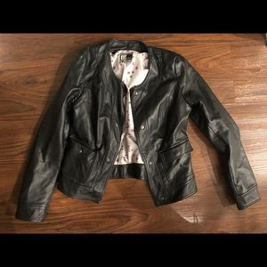 Kit from the Kloth Faux Leather Jacket